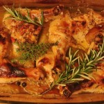 Kurczak w ziołach