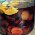 Nalewka ze świeżych węgierek z soczystą brzoskwinią i nutą cynamonu