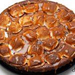Czekoladowe brownie z piankami Marshmallow i solonym karmelem