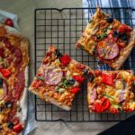 Domowa fit pizza na cieście pszenno-gryczanym